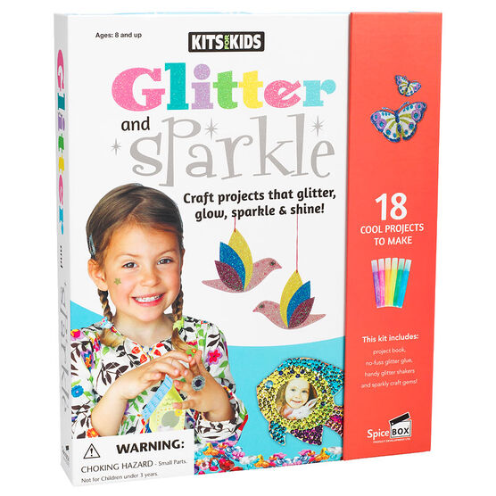 Spicebox Kits for Kids Glitter and Sparkle