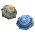 "Beach Umbrella with Tilt - 42"" - Assorted"