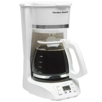 Hamilton Beach 12 Cup Digital Coffee Maker - White - 43871