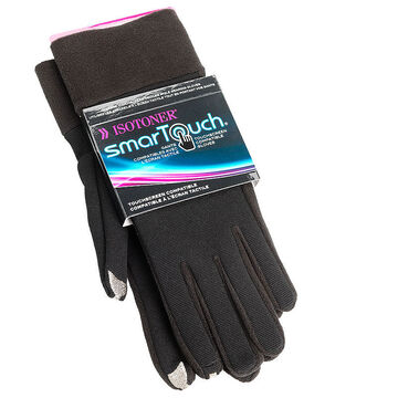 Isotoner SmarTouch Texting Gloves - Black