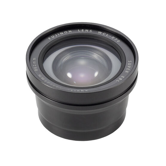Fuji X70 Wide Conversion Lens - Black - 16514091