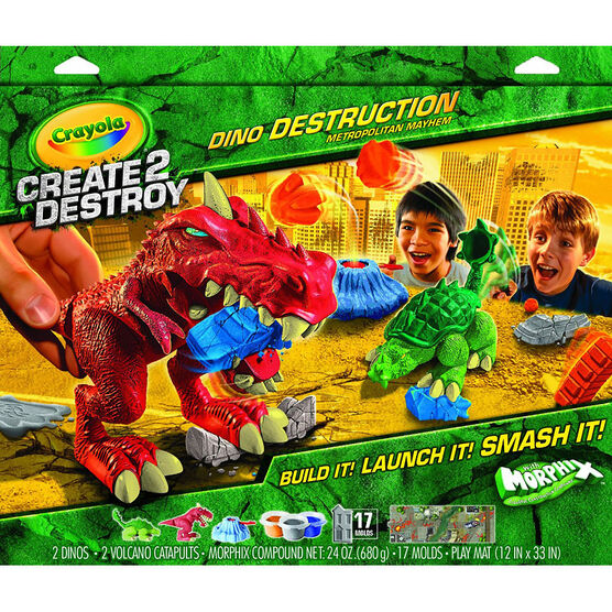 Crayola Create 2 Destroy Dino Destruction - Metropolitan Mayhem