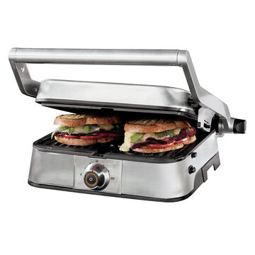 Oster Large Panini Maker - Stainless Steel - CKSTPAPFS1-033
