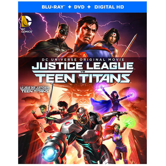 Justice League vs. Teen Titans - Blu-ray