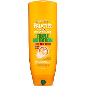 Garnier Fructis Triple Nutrition Conditioner - 384ml
