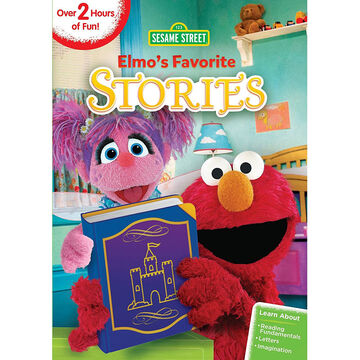 Sesame Street: Elmo's Favorite Stories - DVD