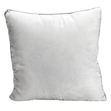 London Drugs Faux Suede Cushion - Silver