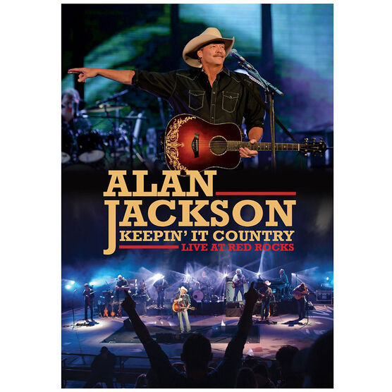 Alan Jackson - Keepin' It Country: Live at Red Rocks - DVD