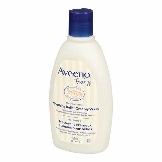 Aveeno Baby Soothing Relief Creamy Wash - 354ml