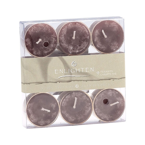 Enlighten Tealights - Maroccan Fig - 9 pack