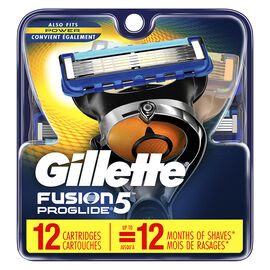 Gillette Fusion5 Proglide Cartridges - 12's