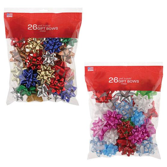 Christmas Luxury Bows Combo - 14261478-BG26-LDN - Assorted