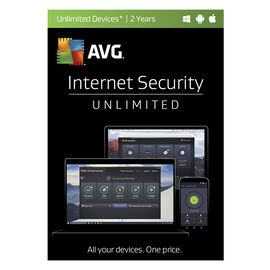AVG Internet Security - Unlimited Devices - 2 Years