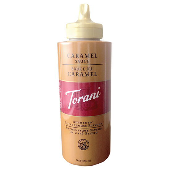 Torani Authentic Coffeehouse Flavor - Caramel - 468g