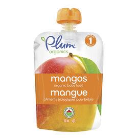 Plum Organics - Just Mangos - 90ml