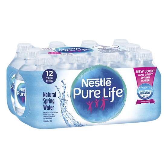 Nestle Pure Life Natural Spring Water - 12x330ml