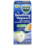 Vicks Soothing Vapours Plug-In Vaporizer & Nightlight - V1700