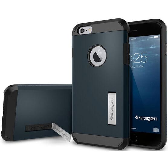 Spigen Tough Armor Case for iPhone 6 Plus - Metal Slate - SGP10915