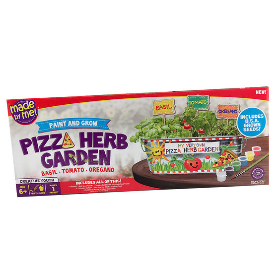 Made by Me! Paint and Grow - Pizza Herb Garden