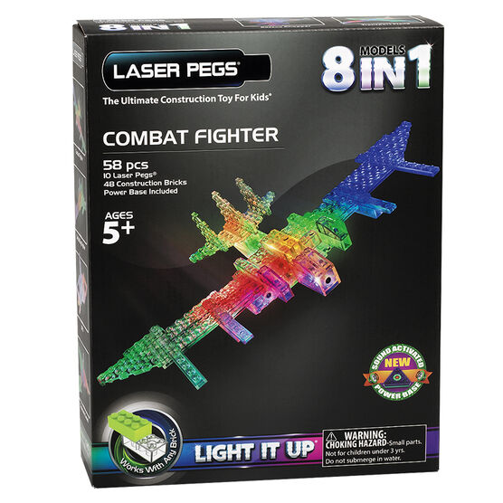 Laser Pegs Combat Fighter Kit