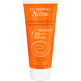 Avene High Protection Lotion for Sensitive Skin - SPF50 - 100ml