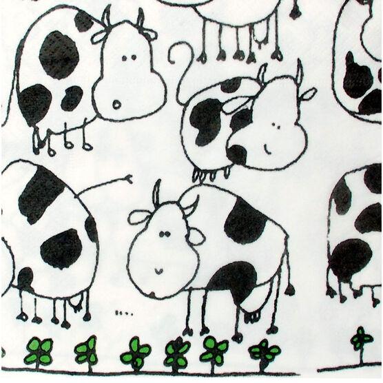 Nuvo Design Napkins - Cows - 20's