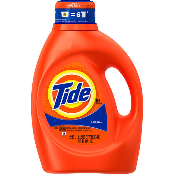 Tide Liquid Laundry Detergent - Original - 2.95L/64 use