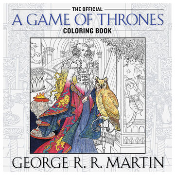 A Game of Thrones Coloring Book