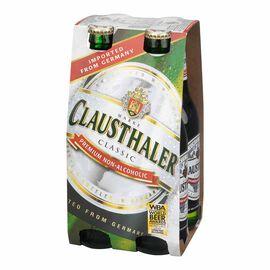 Marke Clausthaler Classic - Premium Non-Alcoholic - 4 x 330ml