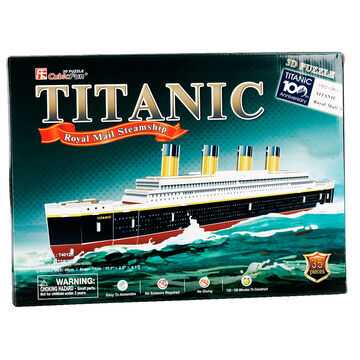 Titanic Royal Mail Steamship 3D Puzzle - 35 Pieces