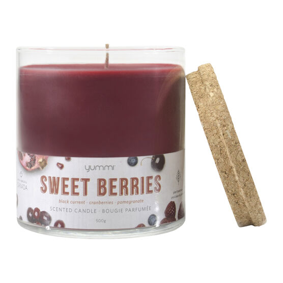 Yummi Jar Candle - Sweet Berry - 18oz