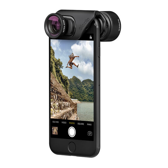 Olloclip ACTIVE Lens for iPhone 7/7 Plus - Black - OC0000215EU