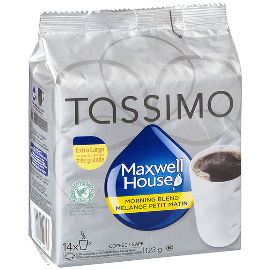 Tassimo Maxwell House Morning Blend - 14 servings