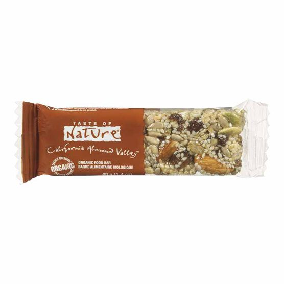 Taste of Nature Bar - California Almond Valley - 40g