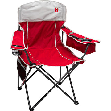 Coleman Oversized Quad Chair With Cooler Red London Drugs