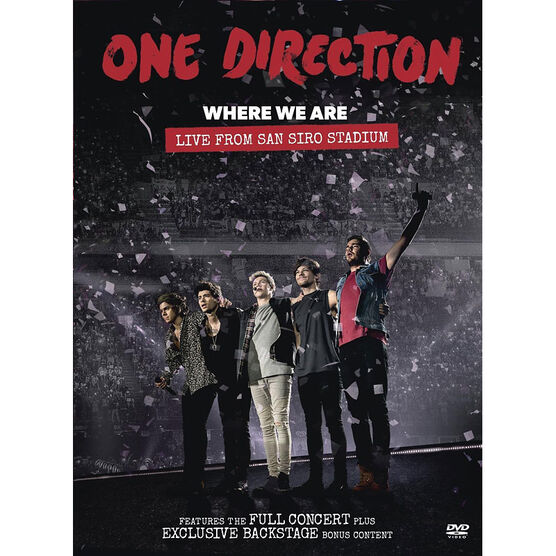 One Direction - Where We Are: Live - DVD