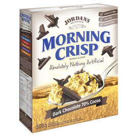 Jordans Morning Crisp Cereal - Chocolate Chip - 500g