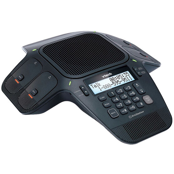 Vtech Conference Speakerphone Office Phone - Black - VCS704