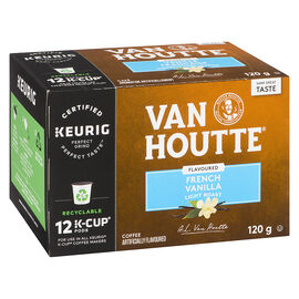 K-Cup Van Houtte Light Roast Coffee - French Vanilla - 12 Servings