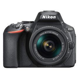 Nikon D5600 with AF-P DX 18-55mm VR Lens - PKG #36021