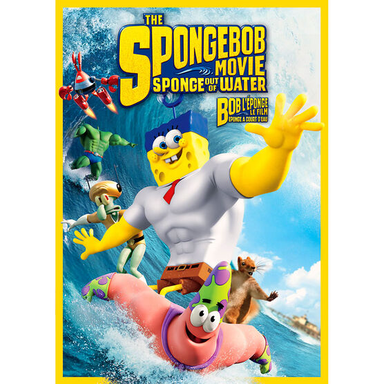 The SpongeBob Movie: Sponge out of Water - DVD