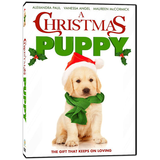 A Christmas Puppy - DVD