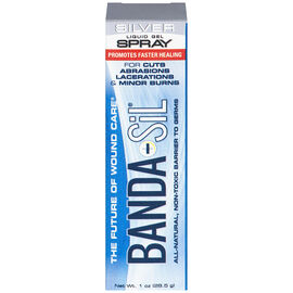 Banda-Sil Silver Liquid Gel Spray Wound Care - 28.5g
