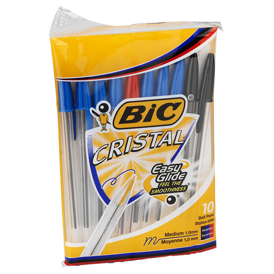 Bic Pens Cristal Ball Point - 10 pack