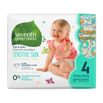 7th Generation Diapers - Stage 4 - 27's