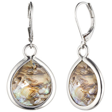 Lonna & Lilly Teardrop Earrings - Abalone