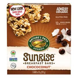 Nature's Path Organic Chococonut Chewy Granola Bars - Dark Chocolate Chip - 5 pack/175g