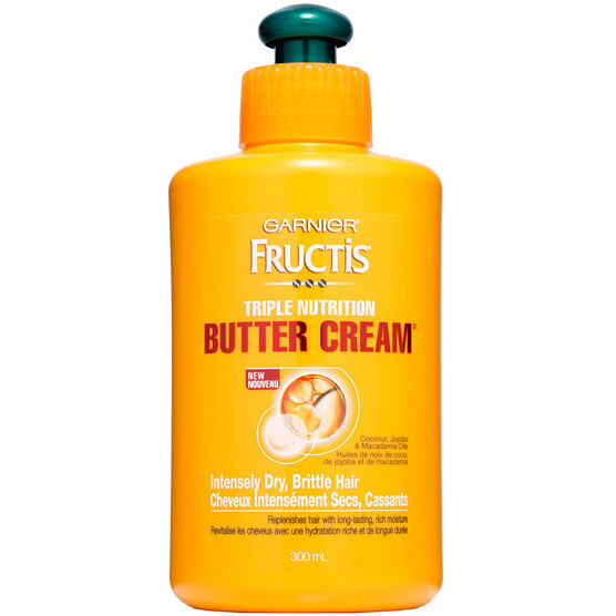 Garnier Fructis Triple Nutrition Butter Cream - 300ml
