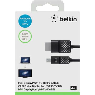Belkin Mini DisplayPort to HDMI Cable - Black - F2CD080bt06