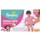 Pampers Easy Ups Trainers - Girls - 2T-3T - 80's/Super